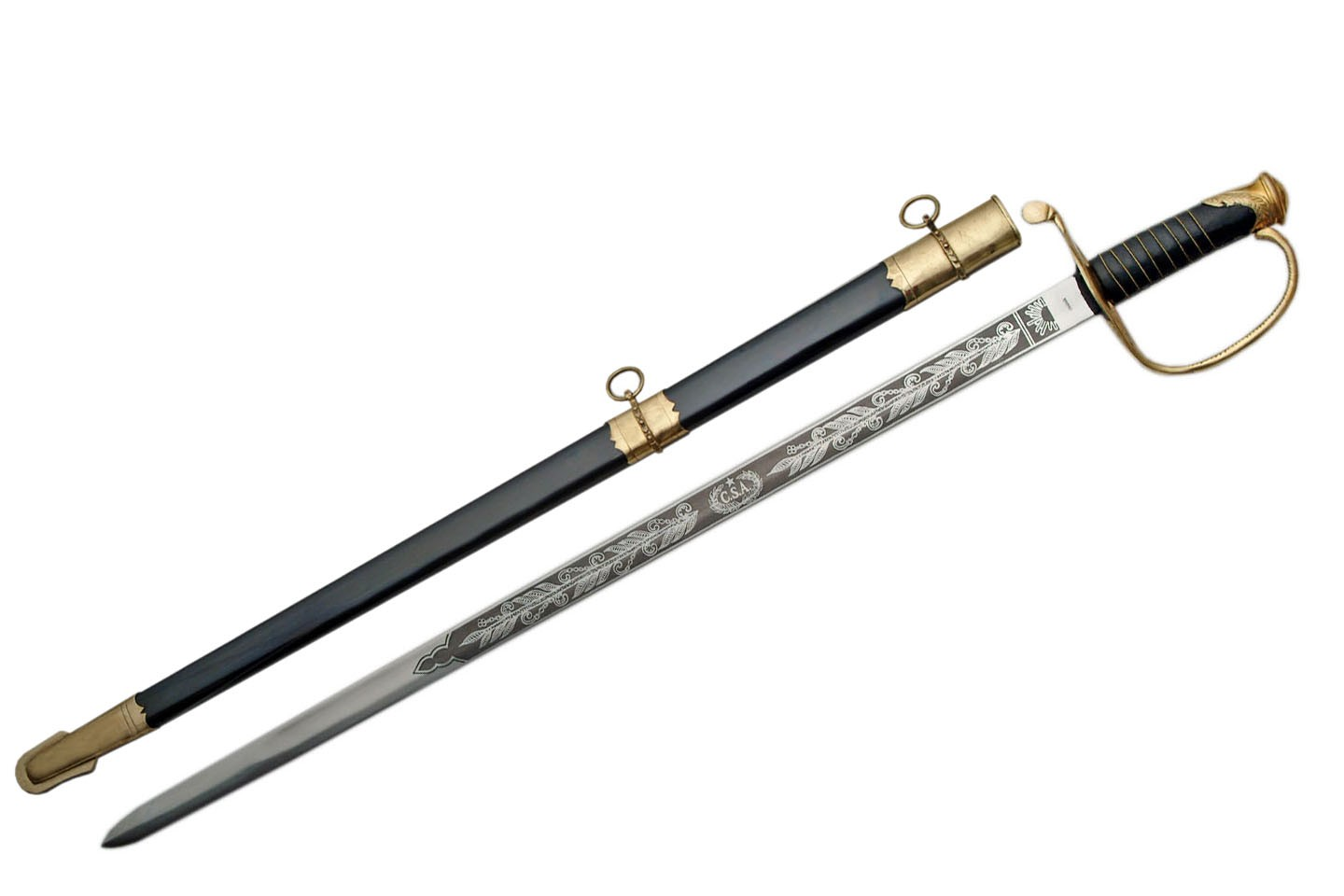 "39"" FAYETTEVILLE ARMORY SWORD"