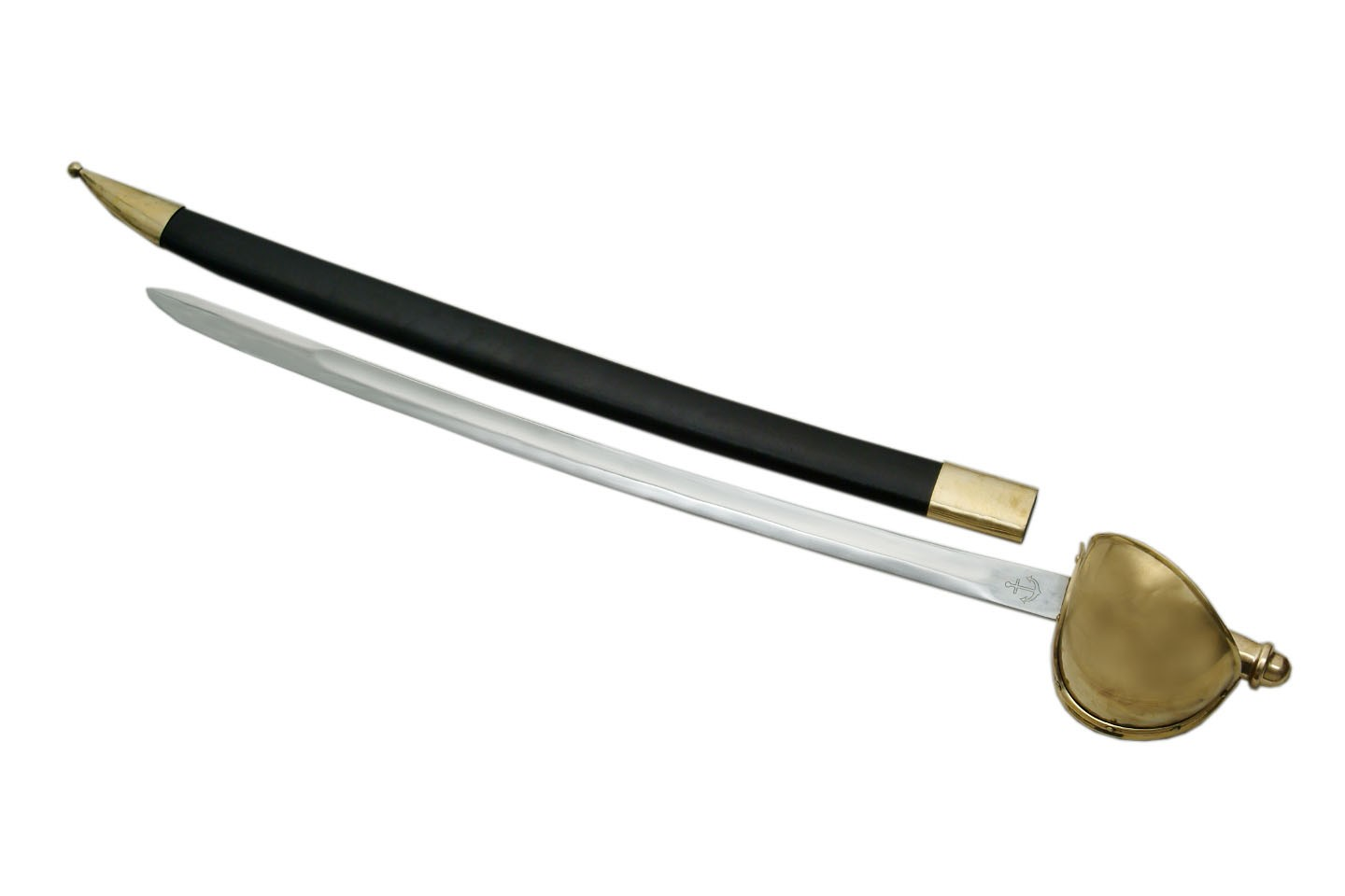 "35.5"" NAVAL CUTLASS SWORD"