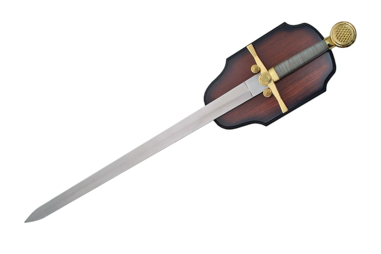 "35"" MEDIEVAL SWORD WITH PLAQUE"
