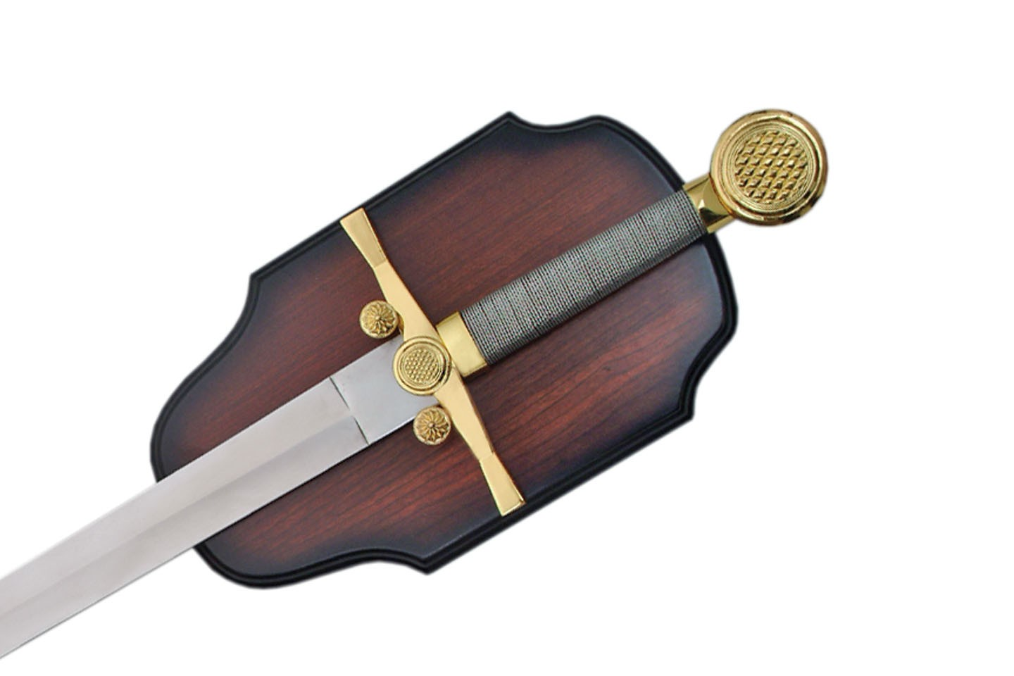 """35"""" MEDIEVAL SWORD WITH PLAQUE"""