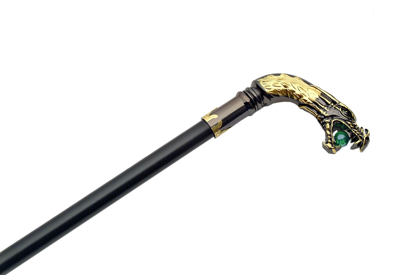 "34"" DRAGON WALKINGSWORD CANE"